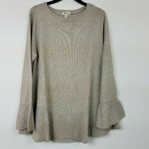 Style&Co XL Ruffle Pull Over Sweater 6AR31